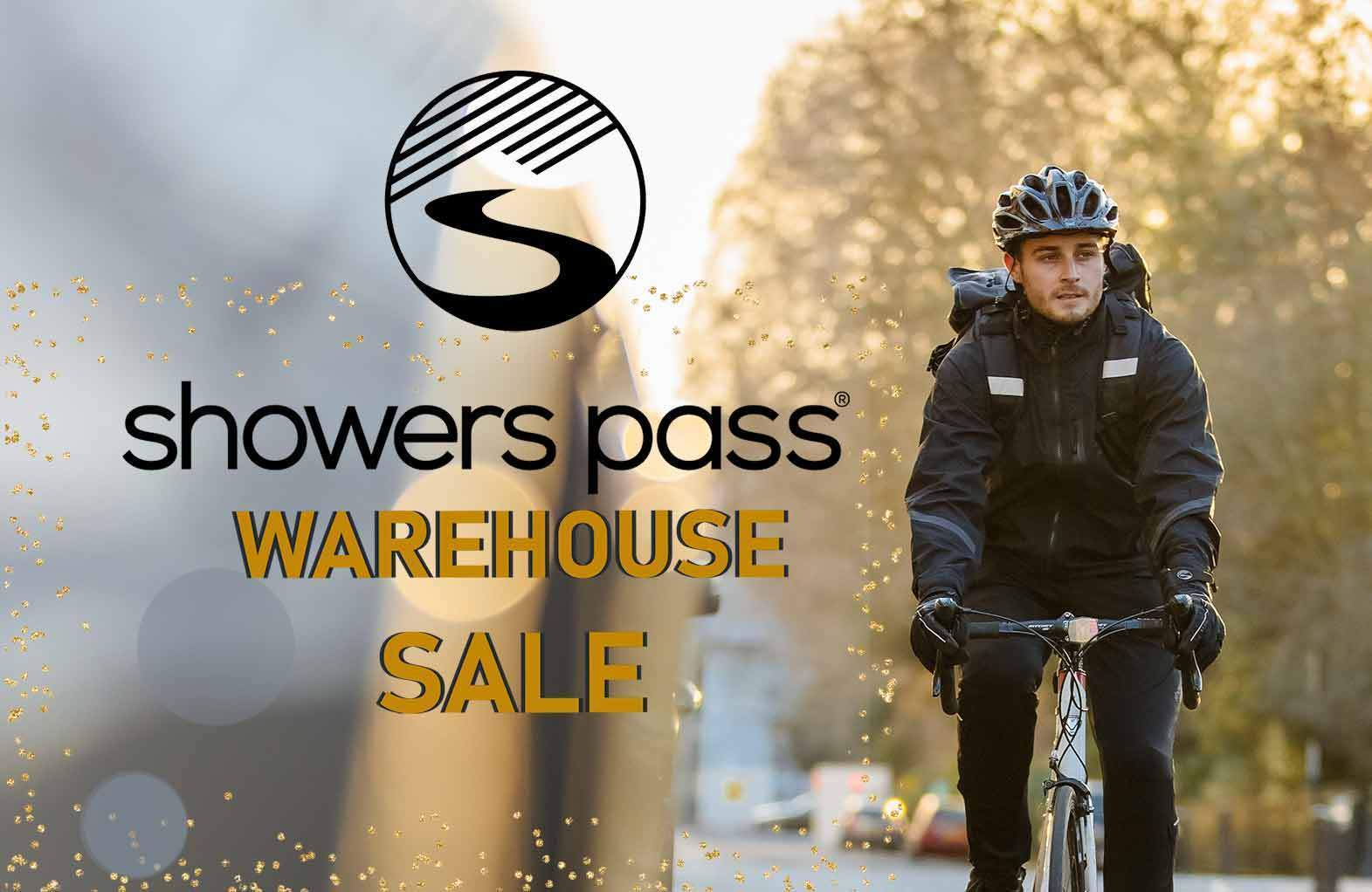 Showers Pass Warehouse Sale - 2018