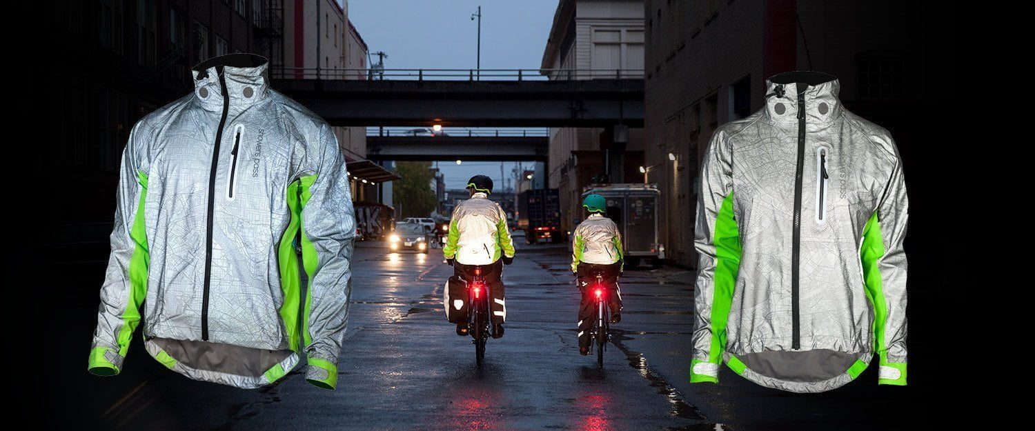 New Hi-Vis Torch Jacket for cyclists who demand to be seen!