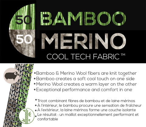 Bamboo-Merino Tech Fabric