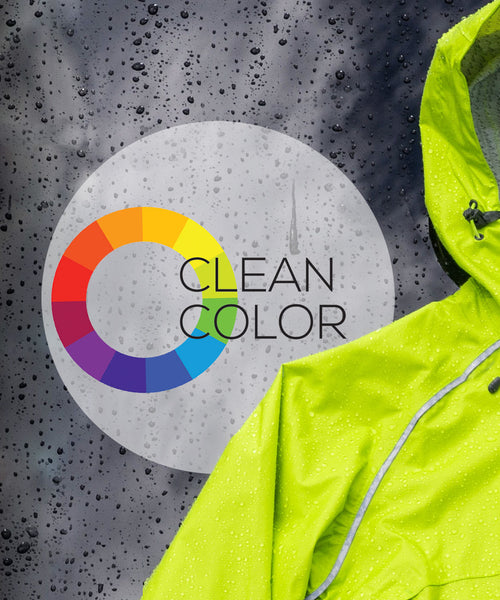 Showers Pass sustainable clean color dye featured in the Syncline CC Jacket
