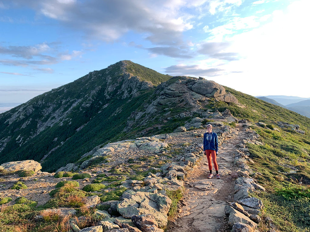 Liz Anjos hikes the Appalachian Trail