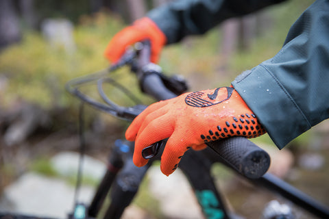 Waterproof Gloves will keep you mountain biking in the rain longer