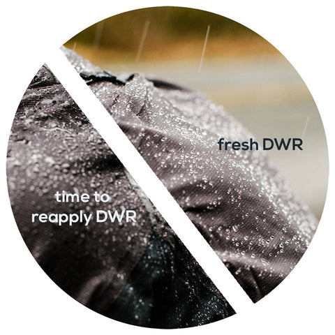 when is time to reapply dwr to a jacket