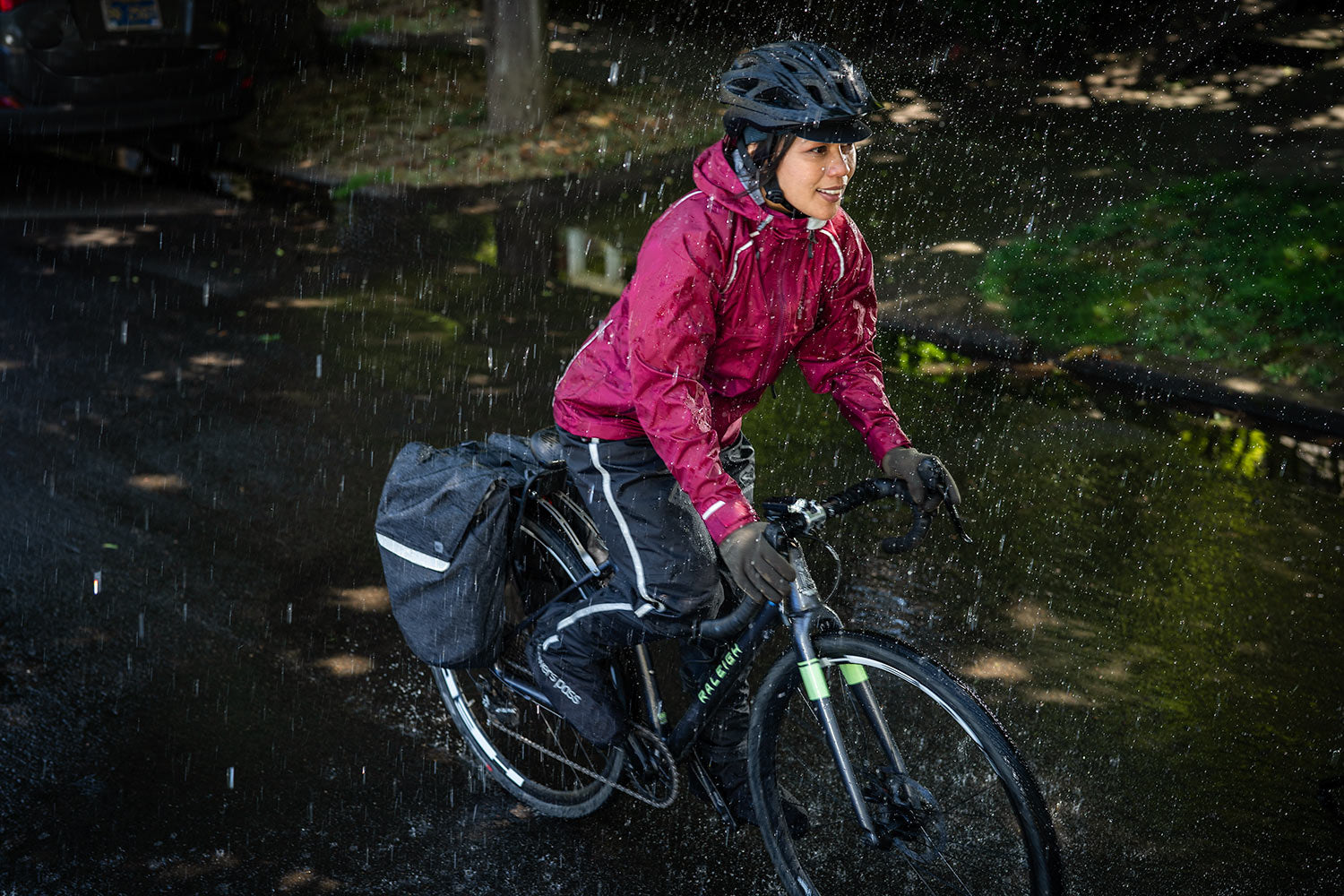 Women's Syncline CC - waterproof cycling jacket