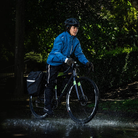 Women's Transit CC Jacket - Bike Commuter Alps Blue