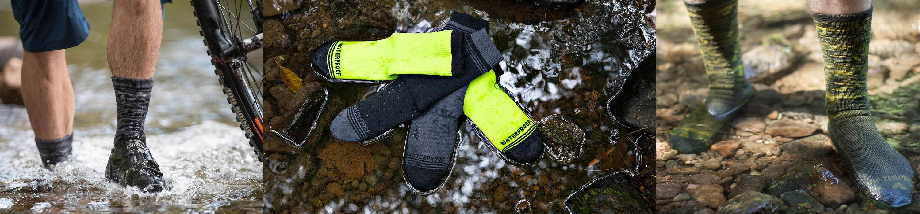 Waterproof Socks multi-sport options