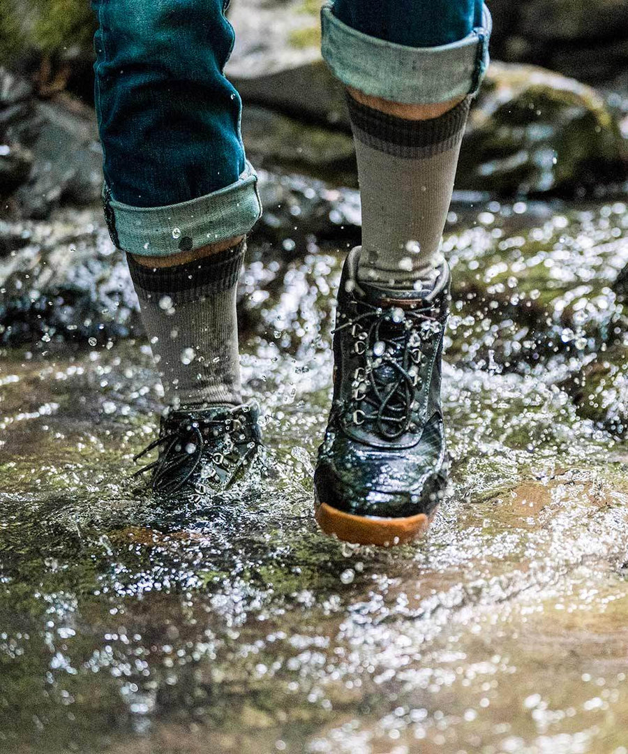 Crosspoint Waterproof Mountain Socks - Wool Blend