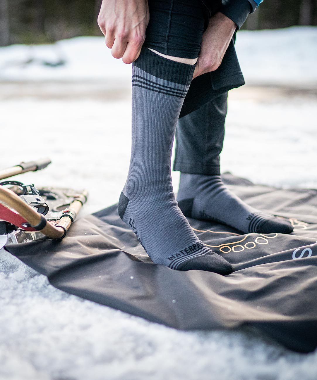 """Men/'s /""""All Weather/"""" Wool Lined Leg Protectors free shipping"""