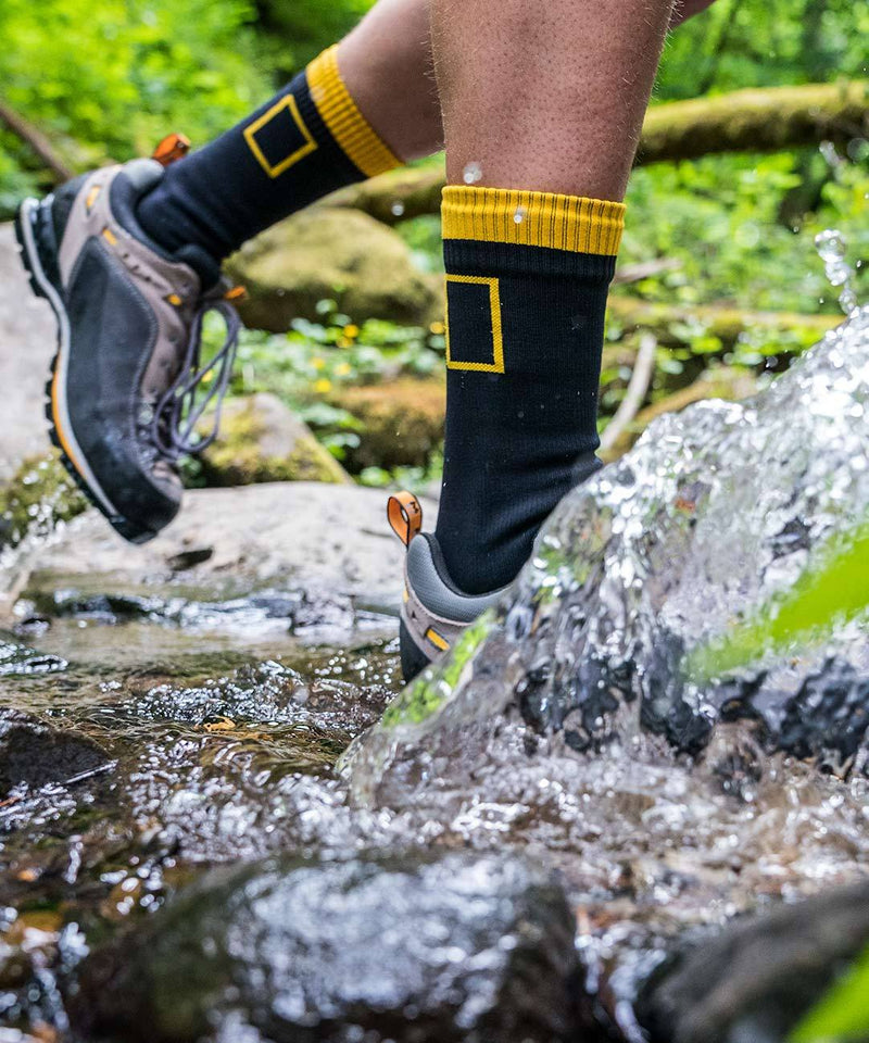 National Geographic Waterproof Socks Mid-Calf Wool-Blend