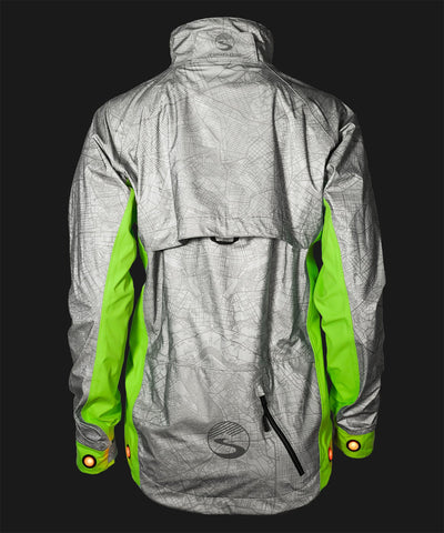 Women's Hi-Vis Torch Jacket with Beacon Lights