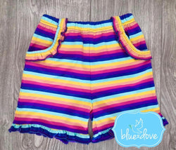 Rainbow Sunset shorts