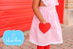 Candy Hearts Pinafore