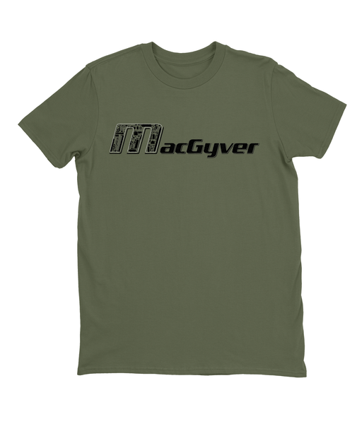 MacGyver Tools of the Trade T-shirt Mens Fitted Tee