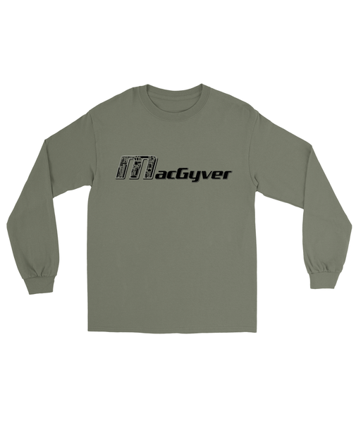 MacGyver Tools of the Trade T-Shirt Mens Long Sleeve Tee