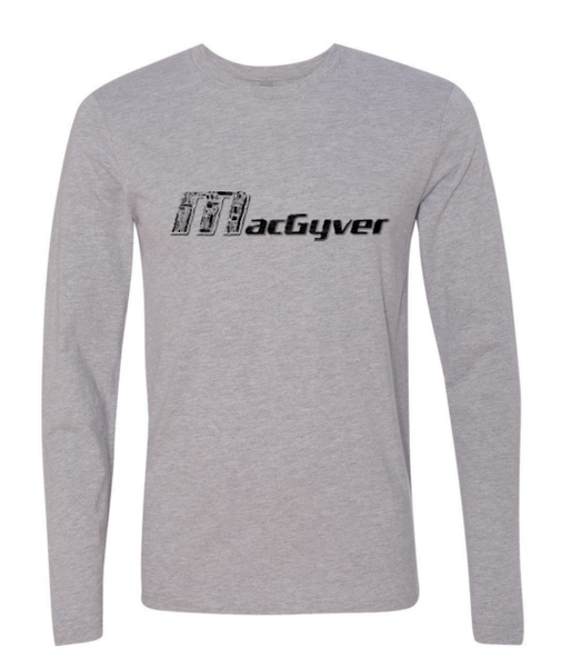 MacGyver Tools of the Trade Mens Longsleeve