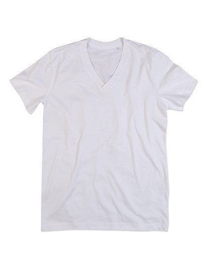 James Organic V-Neck Shirt aus Bio-Baumwolle (3er Pack)