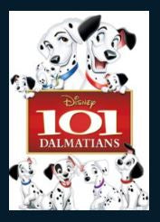 101 Dalmatians HDX DMA MA or Vudu Redeem (Ports to Vudu and iTunes)