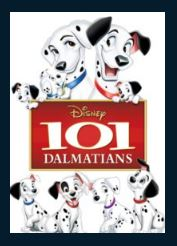 101 Dalmatians HD Google Play Redeem (Ports MA) NO Points DMA