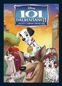 101 Dalmatians II: Patch's London Adventure HDX Google Play Redeem (Ports to MA Movies Anywhere after Redemption) NO Points DMA