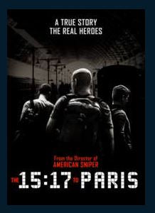 The 15:17 to Paris HDX UV Vudu or MA Redeem (Ports to iTunes and Google Play)