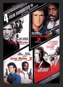4 Film Favorites: Lethal Weapon Collection SD UV (May Redeem HD)