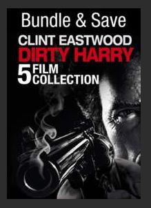 5 Film Collection Dirty Harry Bundle SD UV *Vudu Redeem* (MA MoviesAnywhere Ports to iTunes Google Play)