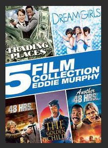 5 Film Collection: Eddie Murphy SD UV (Trading Places Dreamgirls 48 Hrs The Golden Child Another 48 hrs.