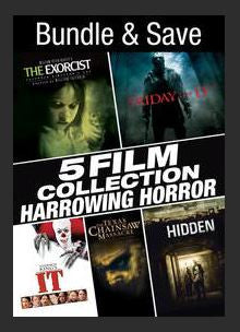 5 Film Collection:  Harrowing Horror SD UV **Vudu Redeem** (Ports to MA MoviesAnywhere)