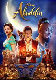 Aladdin (2019) HD Google Play Redeem (Ports to MA MoviesAnywhere) NO Points Disney