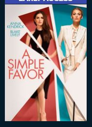 A Simple Favor HD Vudu Redeem (May redeem at iTunes) Doesn't Redeem until Street Date!