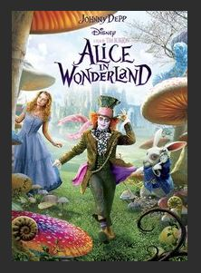 Alice in Wonderland (2010) HDX Google Play Redeem (Ports MA)
