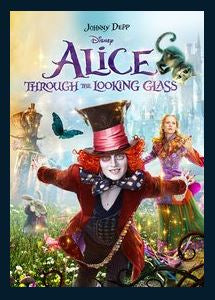 Alice Through the Looking Glass HDX Google Play Redeem (Ports MA) No Points Disney