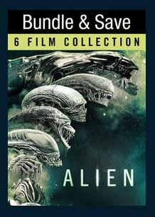 Alien 6-Film Collection HDX UV *Vudu Redeem* (Bundle)