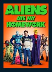 Aliens Ate My Homework HDX UV Vudu or MA Redeem (Ports to iTunes and Google Play)