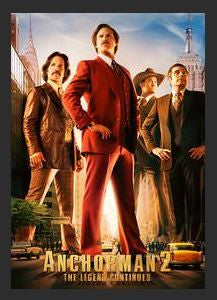 Anchorman 2: The Legend Continues HD iTunes