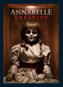 Annabelle: Creation HDX UV Vudu or MA Redeem (Ports to iTunes and Google Play)