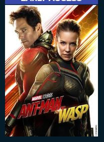 Ant-Man and the Wasp HD Google Play Redeem (Ports to MA after Redemption) Disney Marvel