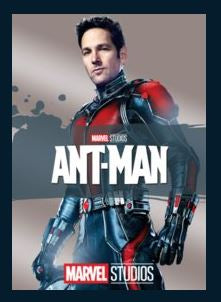 Ant-Man HDX Google Play Redeem (Ports to MA MoviesAnywhere) NO Points DMA