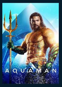 Aquaman 4K UHD Vudu or MA Redeem (Ports to iTunes and Google Play)