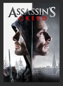 Assassin's Creed HDX UV Vudu or iTunes or Google Play or MA Redeem