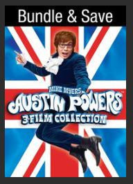 Austin Powers Trilogy SD UV Collection 1-3