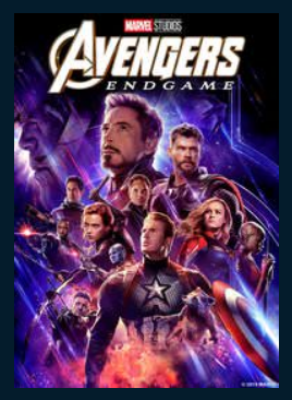 Avengers: Endgame HD Google Play Redeem (Ports...) Disney Marvel