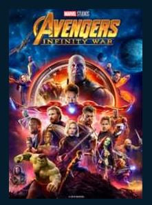 Avengers: Infinity War 4K UHD MA or Vudu Redeem (Ports to iTunes) ONLY 4K on Vudu and FandangoNow