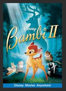 Bambi II HDX DMA MA or Vudu Redeem (Ports to Vudu and iTunes)