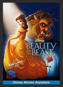 Beauty and the Beast (1991) HDX Google Play (Ports MA) NO Points Disney