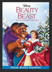 Beauty and the Beast: The Enchanted Christmas HDX DMA MA (Ports to Vudu and iTunes)