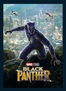 Black Panther HD iTunes Redeem (Ports MA) Disney Marvel