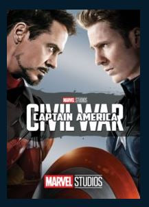 Captain America: Civil War HDX Google Play Redeem (Ports to MA MoviesAnywhere) NO Points DMA