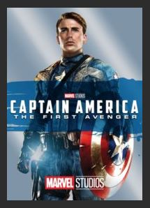 Captain America: The First Avenger HDX Vudu or DMA MA Redeem (Ports to Vudu and iTunes)