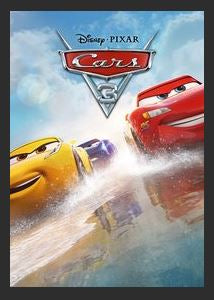 Cars 3 HDX DMA MA or Vudu Redeem (Ports to Vudu and iTunes)